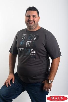 Camiseta hombre tallas grandes 19052