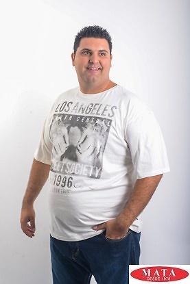 Camiseta hombre tallas grandes 19199