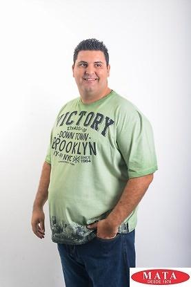 Camiseta hombre tallas grandes 19200