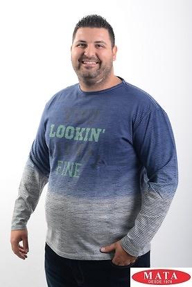 Camiseta hombre tallas grandes 19254