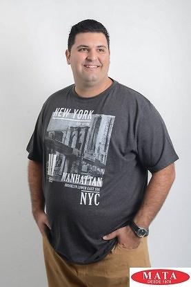 Camiseta hombres tallas grandes marengo 19677