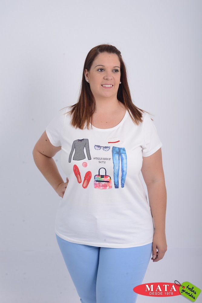 Camiseta mujer 21078
