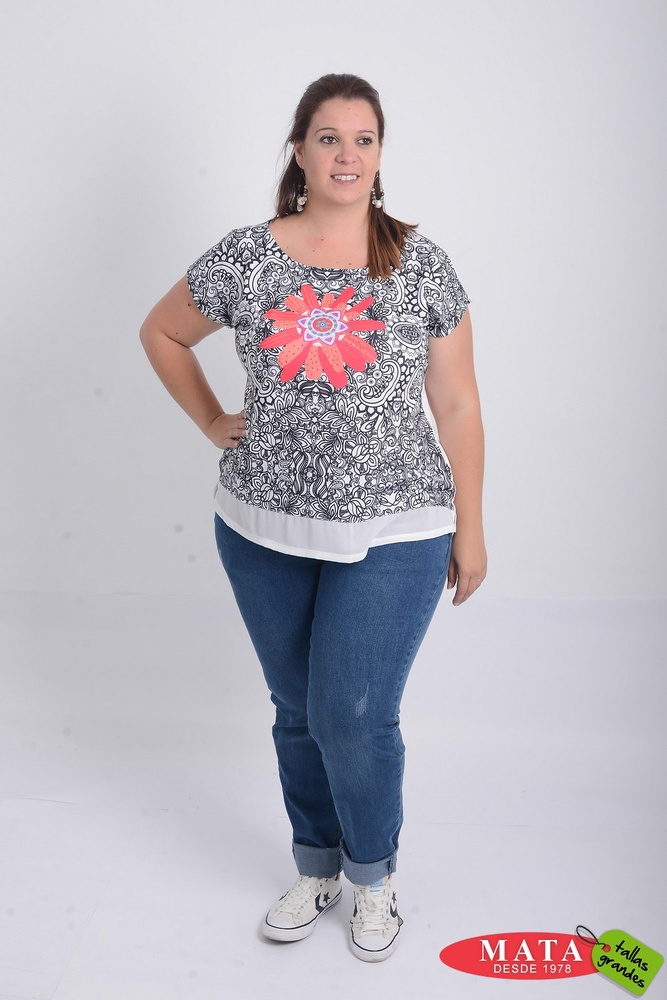 Camiseta mujer 21197