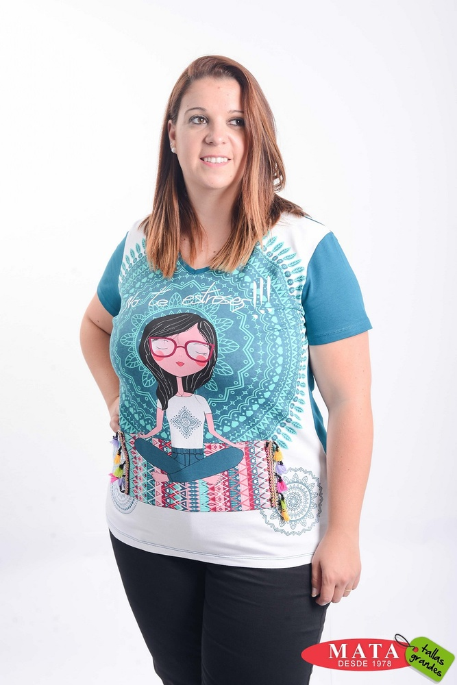 Camiseta mujer 21333