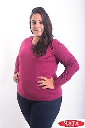 Camiseta mujer tallas grandes 18310