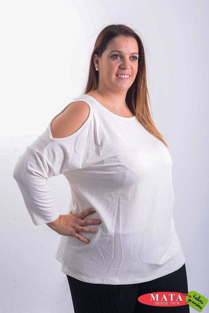 Camiseta mujer tallas grandes 20420