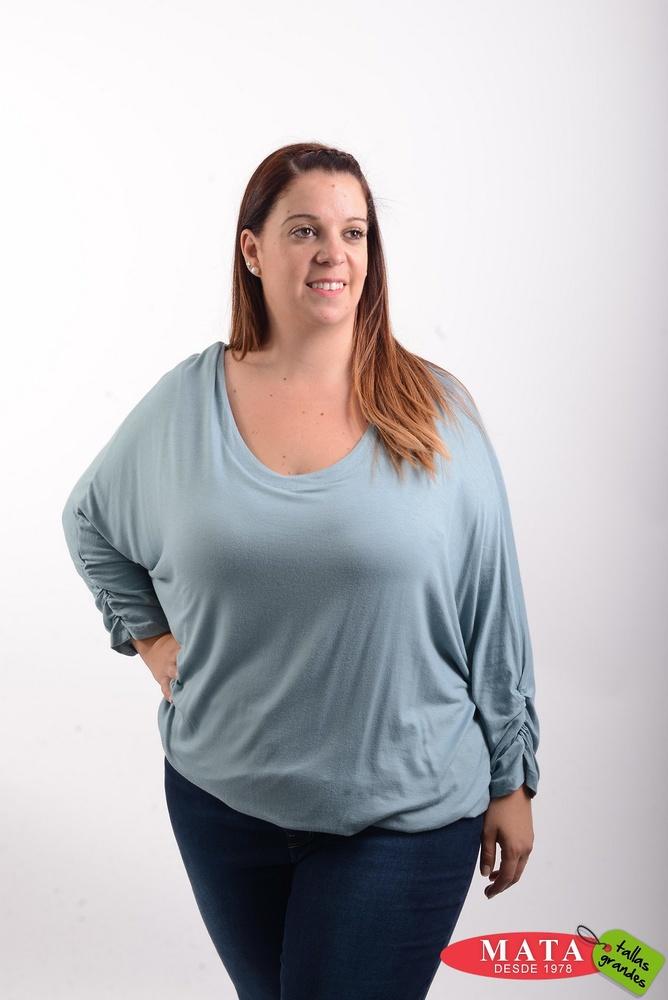 Camiseta mujer tallas grandes 20497