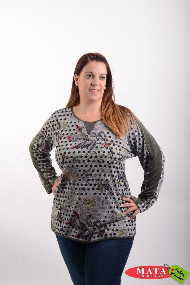 Camiseta mujer tallas grandes 20527