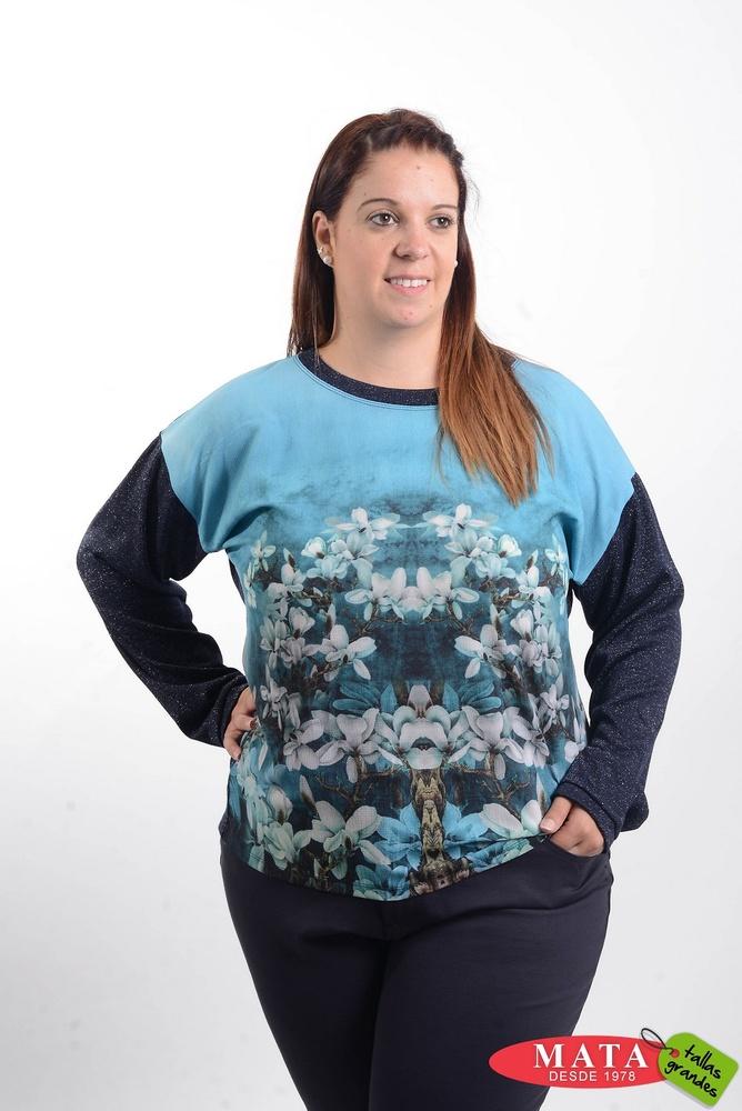 Camiseta mujer tallas grandes 20595