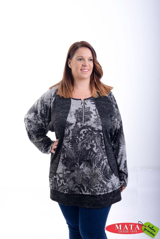 Camiseta mujer tallas grandes 20784