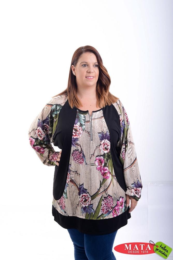Camiseta mujer tallas grandes 20785