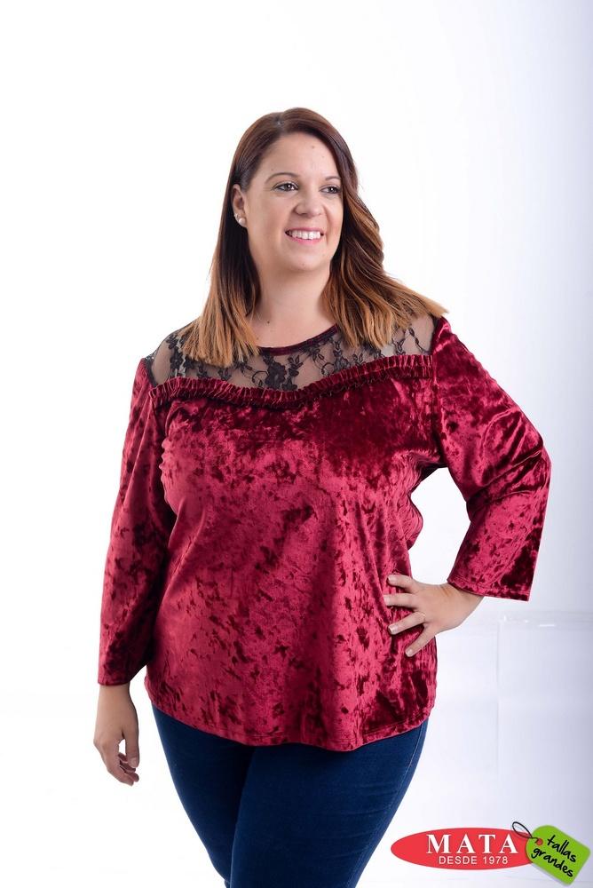 Camiseta mujer tallas grandes 20823