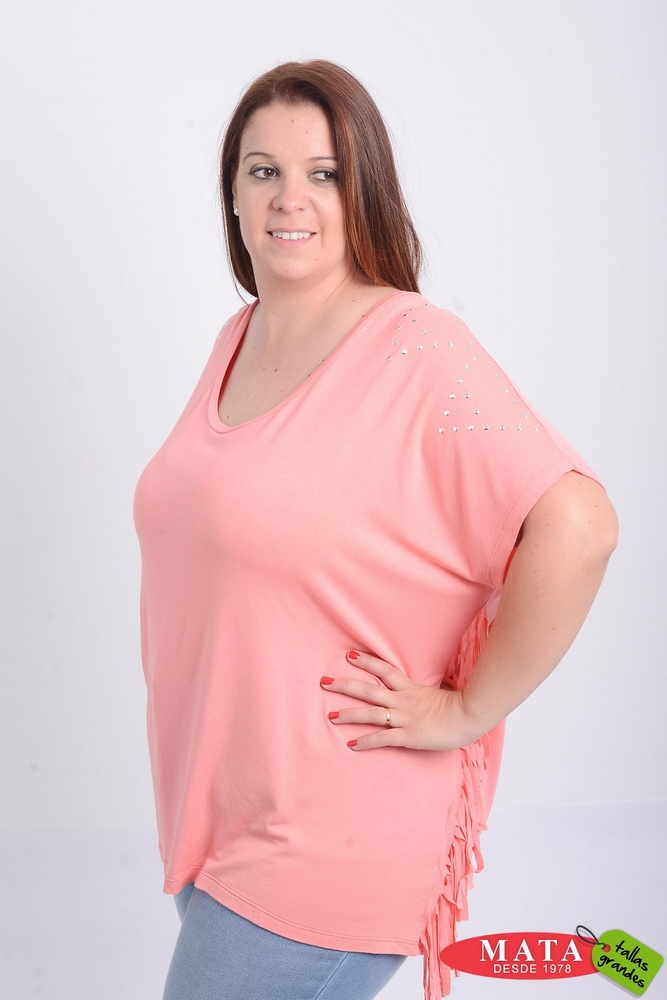 Camiseta mujer tallas grandes 21047