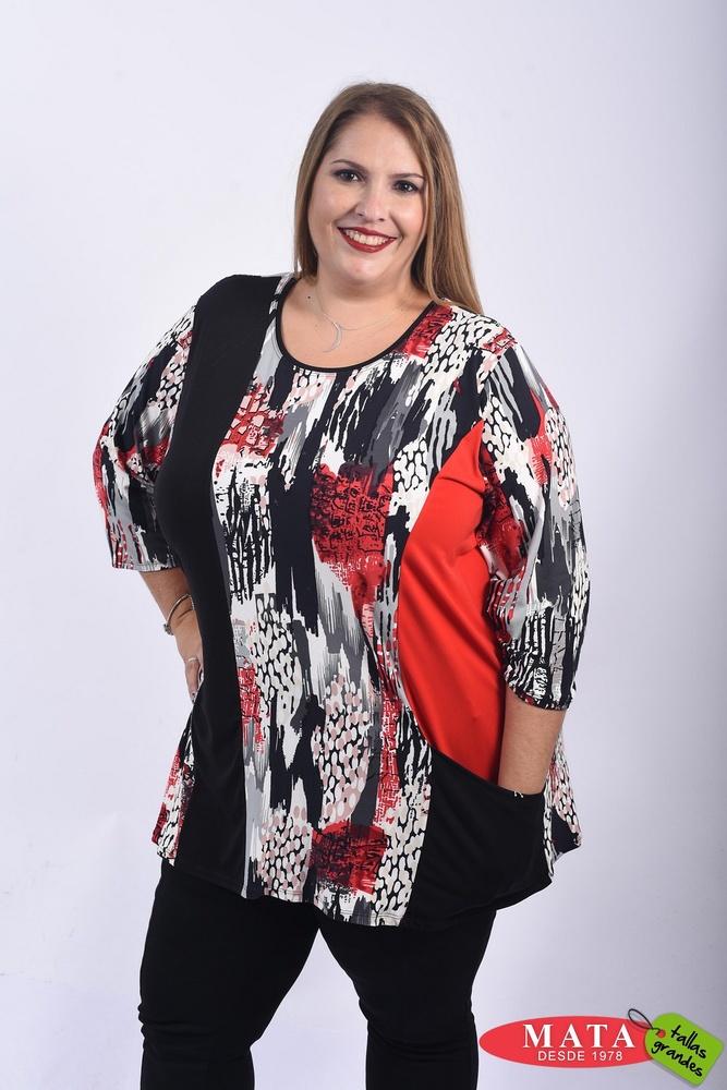 Camiseta mujer tallas grandes 22099