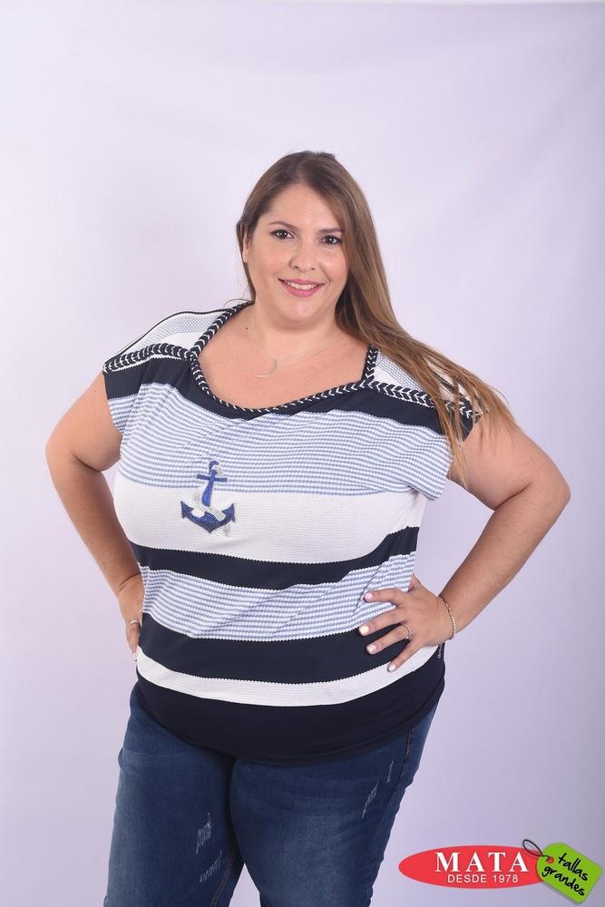 Camiseta mujer tallas grandes 22887