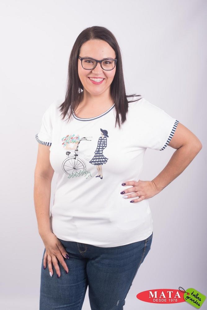 Camiseta mujer tallas grandes 23548