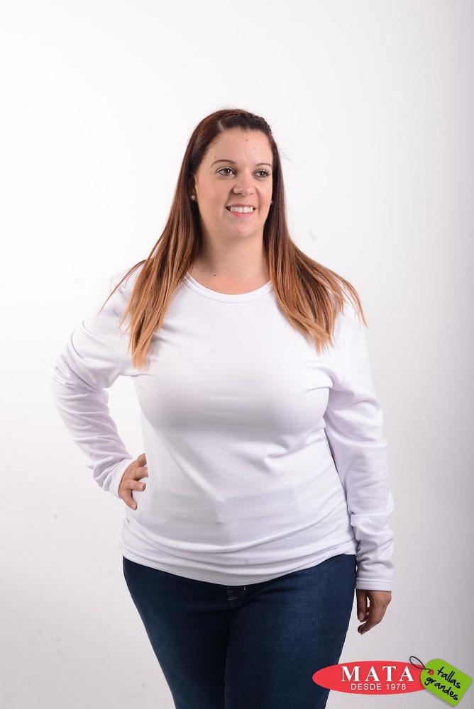 Camiseta térmica mujer diversos colores 16134