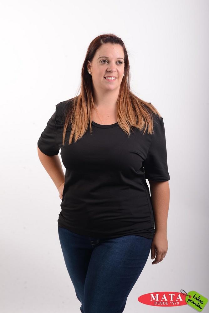 Camiseta térmica mujer diversos colores 20478