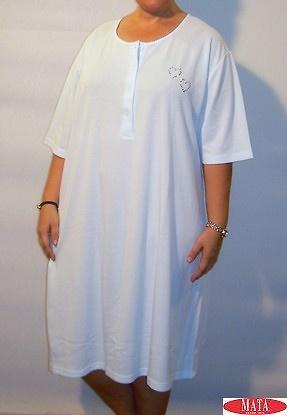 Camisola mujer celeste tallas grandes 06099