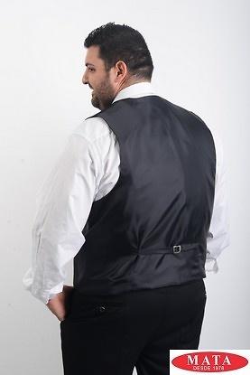 Chaleco hombre tallas grandes negro 18887