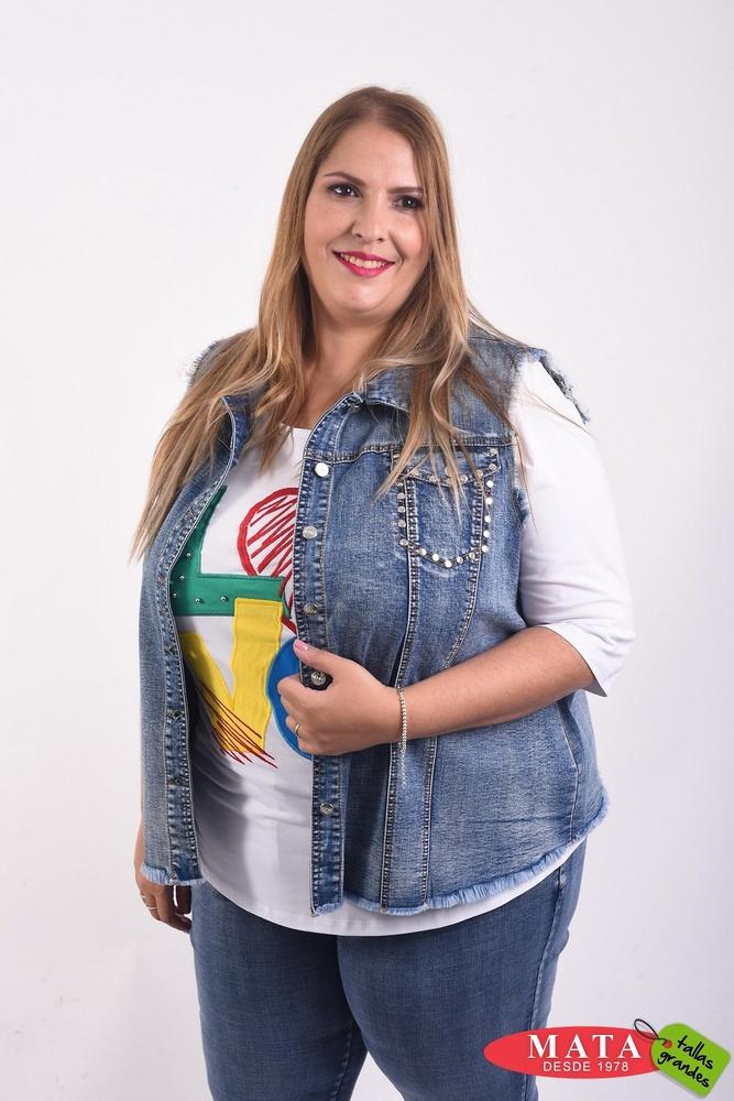 Chaleco vaquero mujer 22260