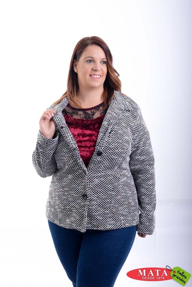 Chaqueta mujer tallas grandes 20826 ropa mujer tallas grandes abrigo chaquetas ropa mujer - Ropa interior tallas especiales ...