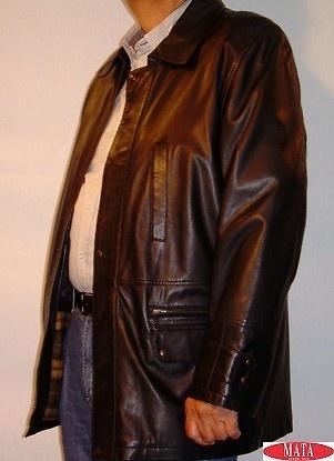 Chaqueta negro hombre tallas grandes 03561