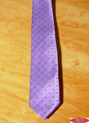 Corbata hombre malva tallas grandes 14311