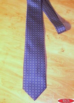 Corbata hombre azul tallas grandes 14312
