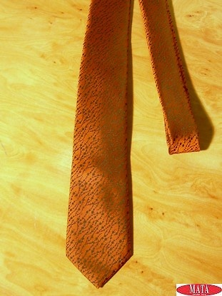 Corbata hombre teja tallas grandes 14319