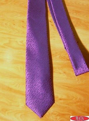 Corbata lila tallas grandes 14319