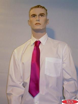 Corbata tallas grandes hombre fuxia 09626