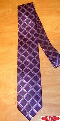 Corbata hombre malva tallas grandes 12270
