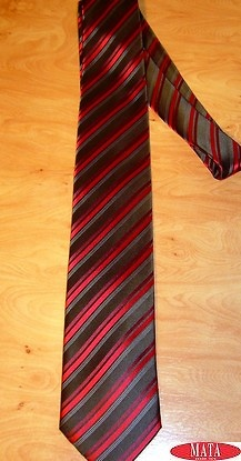 Corbata hombre rojo tallas grandes 12268