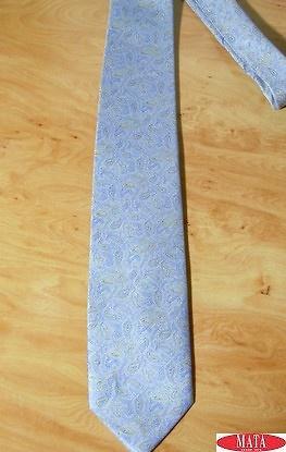 Corbata hombre gris tallas grandes 14314