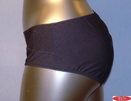 Culotte mujer gris tallas grandes 13430