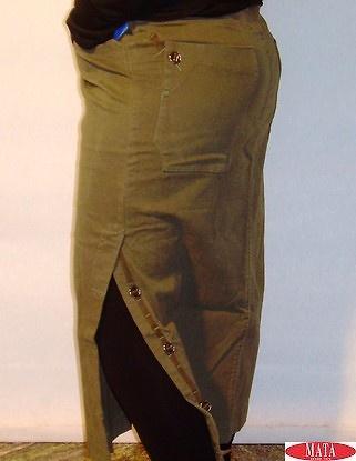 Falda mujer kaky tallas grandes 03571