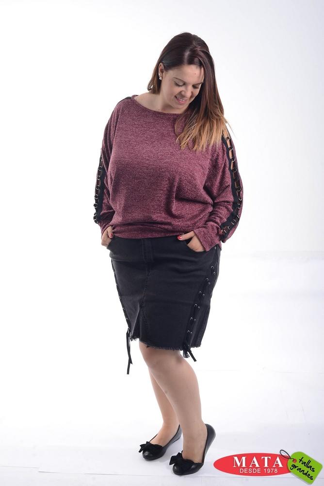 Falda mujer tallas grandes 20620