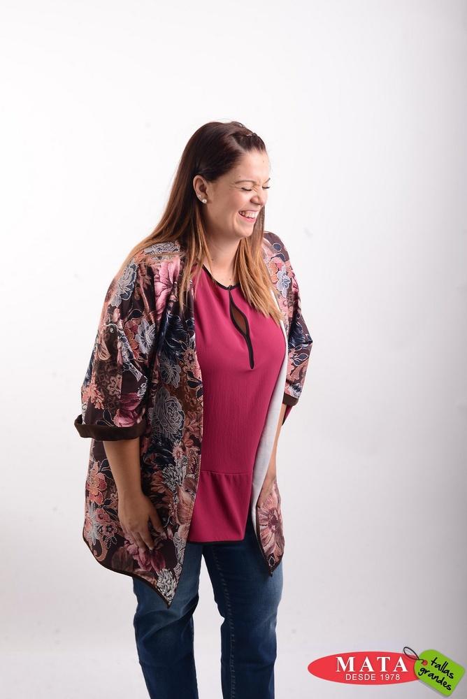Kimono mujer tallas grandes 20531