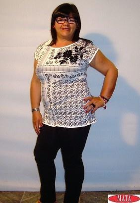 Legging NEGRO 10610 y camiseta negro 10598