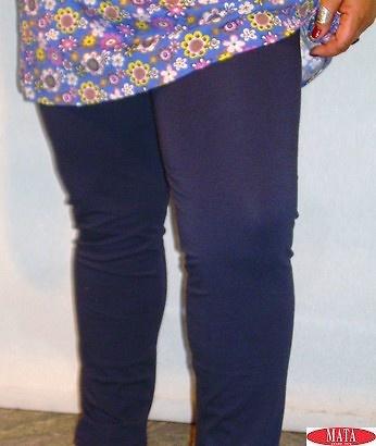 Legging AZUL MARINO tallas grandes 10610