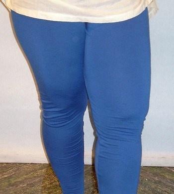 Legging azul mujer tallas grandes 10716