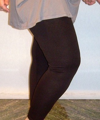 Legging negro mujer tallas grandes 10716
