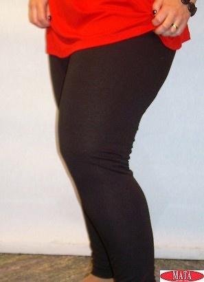 Legging NEGRO mujer tallas grandes 10885