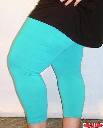 Legging mujer azul turquesa 12962
