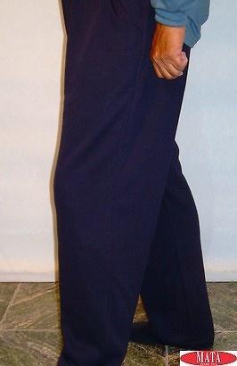 Pantalón azul marino tallas grandes 11310