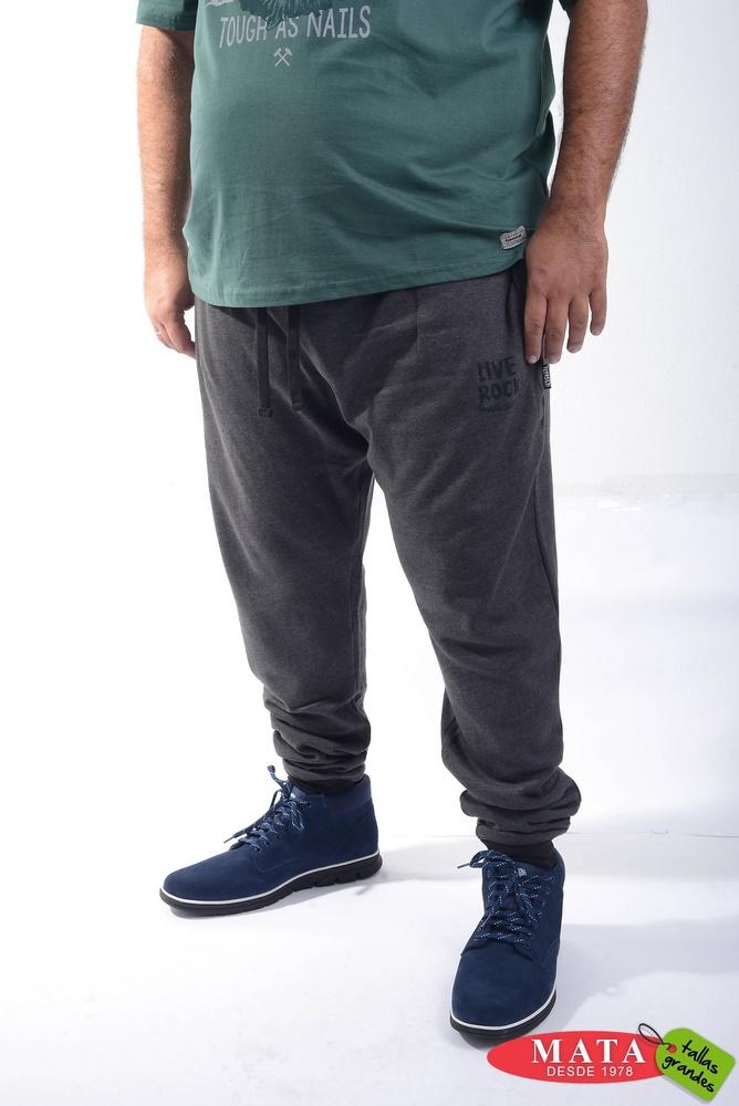 Pantalón chándal hombre tallas grandes 20591 - Ropa hombre tallas ... 820d605c6f25