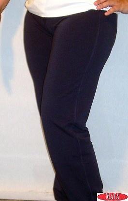 Pantalón azul marino tallas grandes 11539