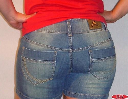 Pantalón corto mujer tallas grandes 11072