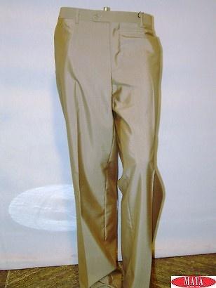 Pantalón hombre beig 08557